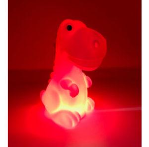Rechargeable dinosaur night light