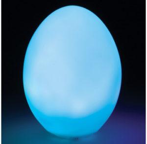 Colour changing egg lights