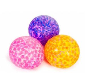 Squishy gel light up ball