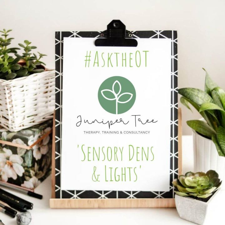 #AsktheOT- All About Sensory Dens & Lights